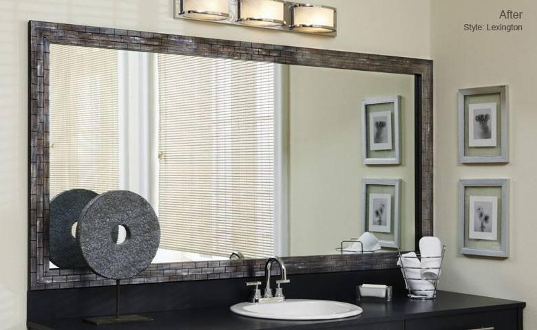 Delightful Fine Bathroom Mirror Frames Best 20 Frame Bathroom For Frames Mirrors (View 14 of 15)