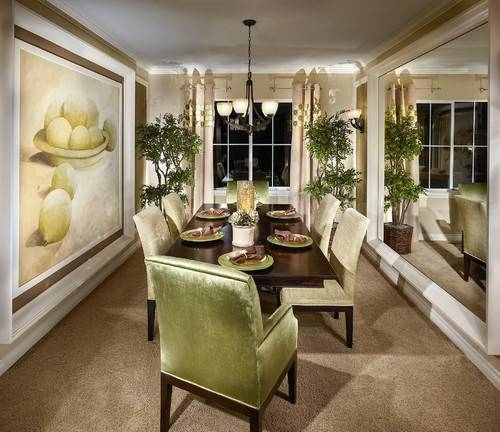 Delightful Mirrors In The Dining Room Throughout Floor To Ceiling Wall Mirrors (#6 of 15)