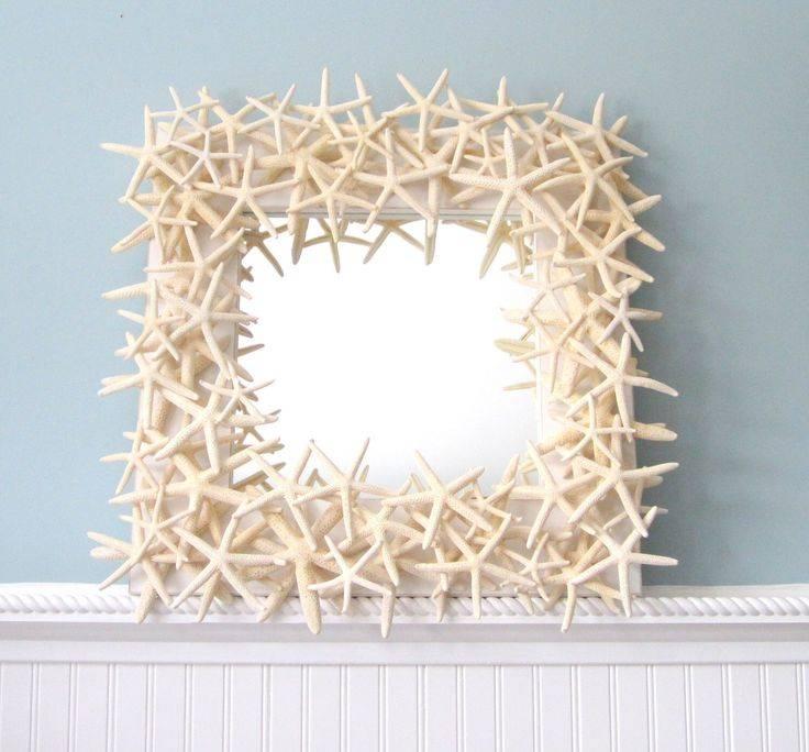 Die Besten 25+ Starfish Mirror Ideen Auf Pinterest   Strand In Seashell Wall Mirrors (#7 of 15)