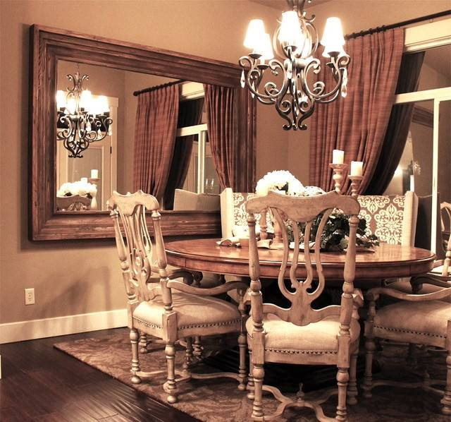 Dining Room Wall Mounted Mirror – Traditional – Dining Room – Salt Inside Dining Mirrors (#9 of 15)