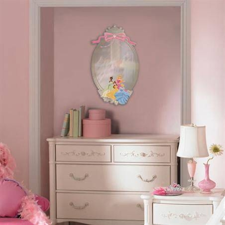 Disney Princess Peel And Stick Mirror Intended For Disney Wall Mirrors (#5 of 15)