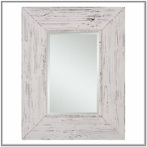 Distressed Wood Wall Mirror | Home Design Ideas For Distressed White Wall Mirrors (#6 of 15)
