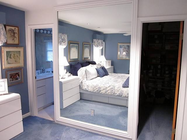 Diy Frame A Large Wall Mirror With Molding {Diydesign} – The With Large Wall Mirrors With Frame (#8 of 15)