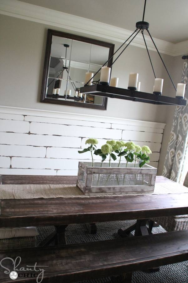 Diy Large Paneled Wall Mirror – Shanty 2 Chic Throughout Giant Wall Mirrors (#9 of 15)