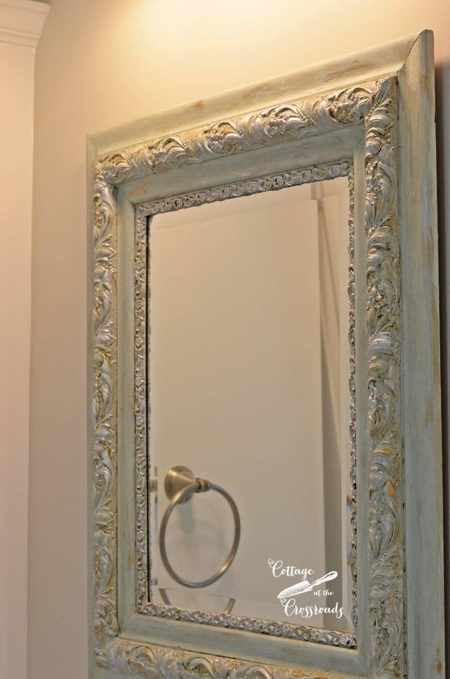 Diy Painted Mirror Frames Throughout Frames Mirrors (#13 of 15)
