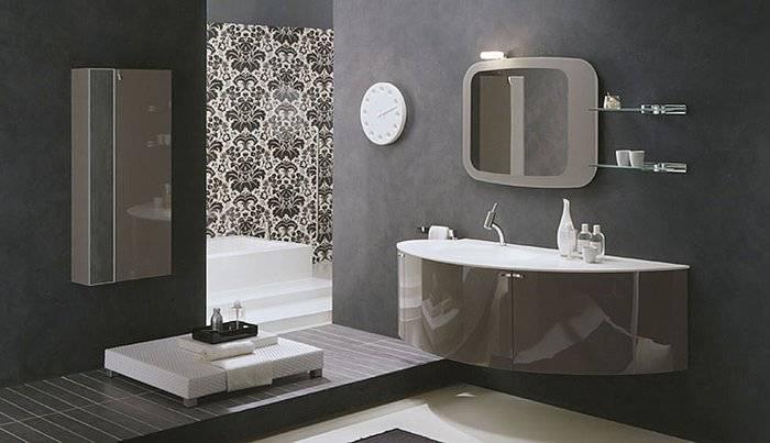 Download Designer Bathroom Mirrors | Gurdjieffouspensky With Regard To Modern Mirrors For Bathrooms (View 11 of 15)