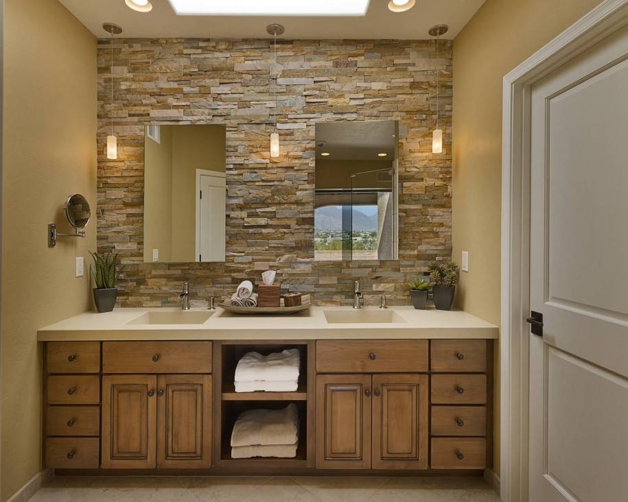 Download Ideas For Mirrors In Bathrooms | Widaus Home Design Pertaining To Bathroom Mirrors Ideas With Vanity (#11 of 15)