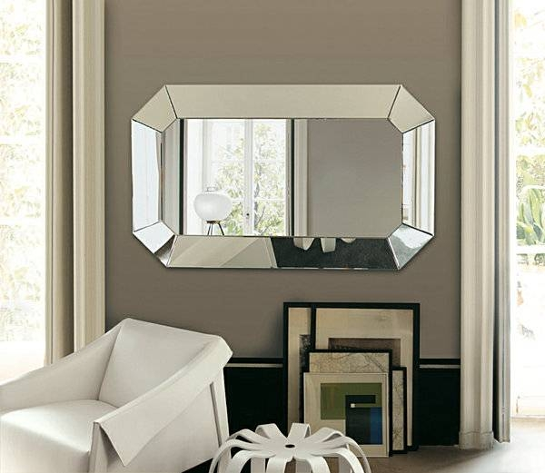 Download Large Decorative Wall Mirror | Gen4Congress Intended For Large Fancy Wall Mirrors (#10 of 15)