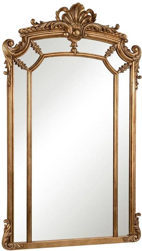 "Elegant Lighting Mr 3344 Antique Traditional 30"" Wide Wall Mirror For Elegant Wall Mirrors (#6 of 15)"