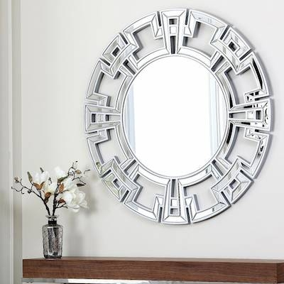 Elegant Lighting Round Wall Mirror Look For Less With Elegant Wall Mirrors (#7 of 15)