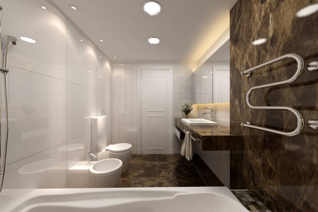 Elegant Mirror Using Led Strip Lights For Modern Luxury Bathroom Throughout Led Strip Lights For Bathroom Mirrors (#12 of 15)