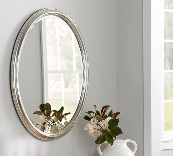 Elle Wall Mirror | Pottery Barn Inside Pottery Barn Wall Mirrors (#5 of 15)