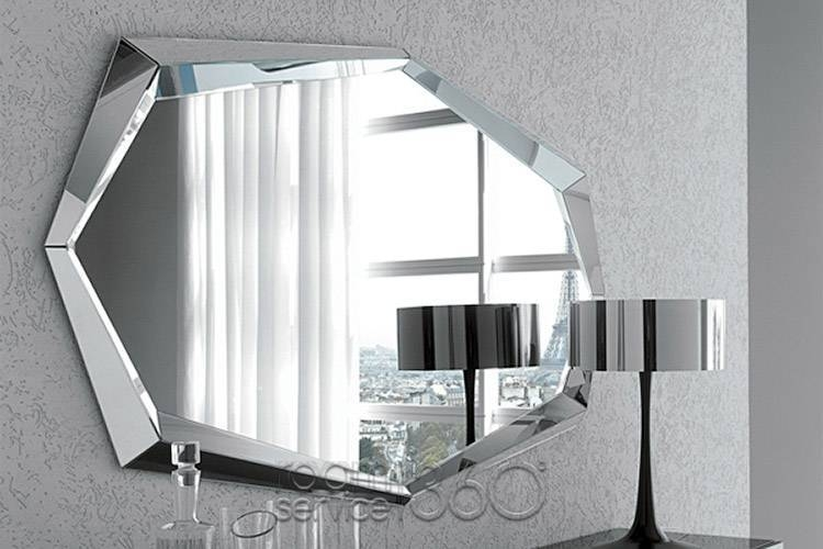 Emerald Contemporary Wall Mirrorcattelan Italia – Italian Mirror Intended For Italian Wall Mirrors (#8 of 15)