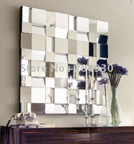 Enjoyable Design Ideas Decorative Bathroom Wall Mirrors For Throughout Decorative Contemporary Wall Mirrors (#11 of 15)