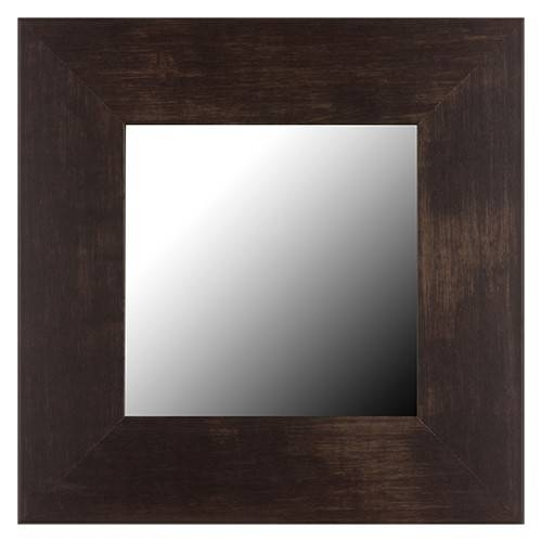 Espresso Mirror Frame | Frames For Bathroom Wall Mirrors Pertaining To Walnut Wall Mirrors (View 4 of 15)