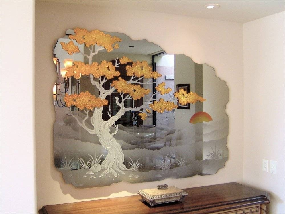 Etched Mirrors – No Chance For Paparazzi | Best Decor Things With Etched Wall Mirrors (#4 of 15)