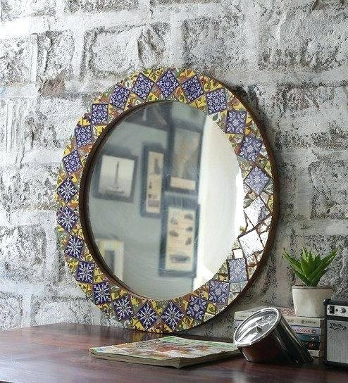 Ethnic Wall Mirrors Click To Zoom In Out – Designlee In Ethnic Wall Mirrors (#11 of 15)