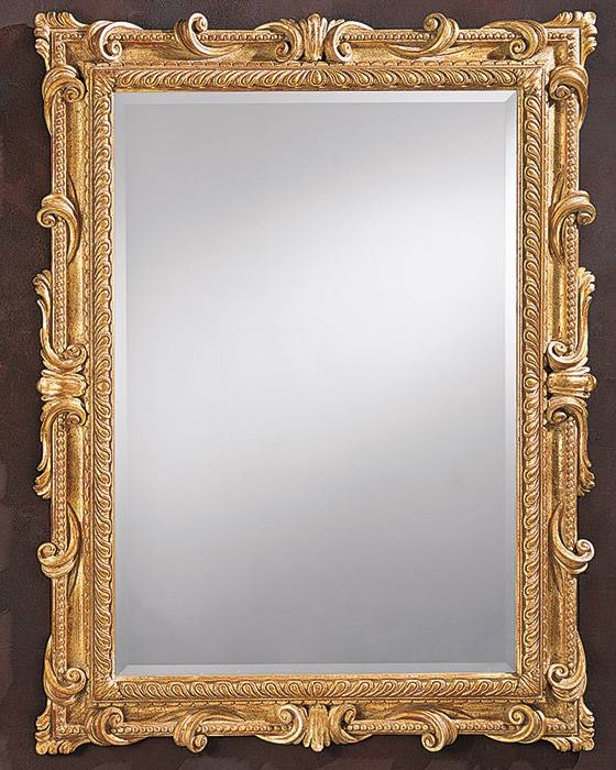 15 Ideas Of Gold Framed Wall Mirrors