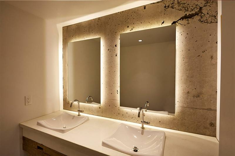 Excellent Inspiration Ideas Light Up Bathroom Mirror On Bathroom Inside Light Up Bathroom Mirrors (#11 of 15)