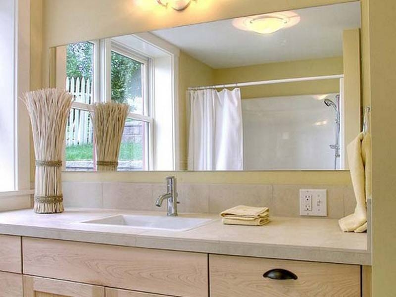 beveled glass mirrors bathroom 15 collection of frameless beveled bathroom mirrors 17355