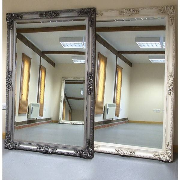 15 Collection Of Big Wall Mirrors
