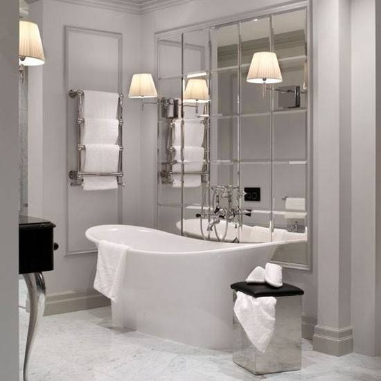 Extraordinary Ideas Wall Mirrors For Bathrooms How To Frame A With Regard To Wall Mirrors For Bathrooms (#6 of 15)