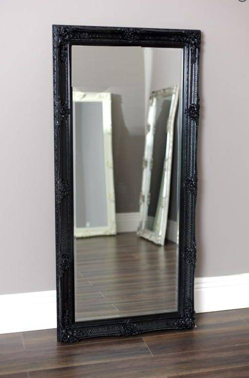 Extravagant Black Wall Mirror | French Mirror Company Pertaining To Large Black Wall Mirrors (#9 of 15)