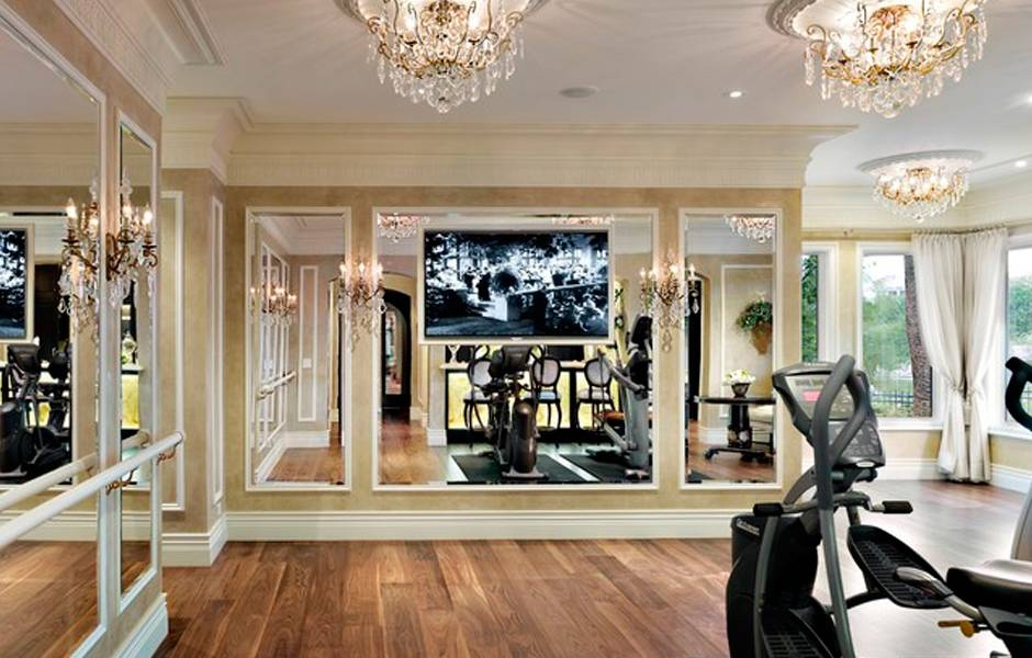 Fancy Home Gym Wall Mirrors | Nick's Glass And Mirrors Within Wall Mirrors For Home Gym (#9 of 15)