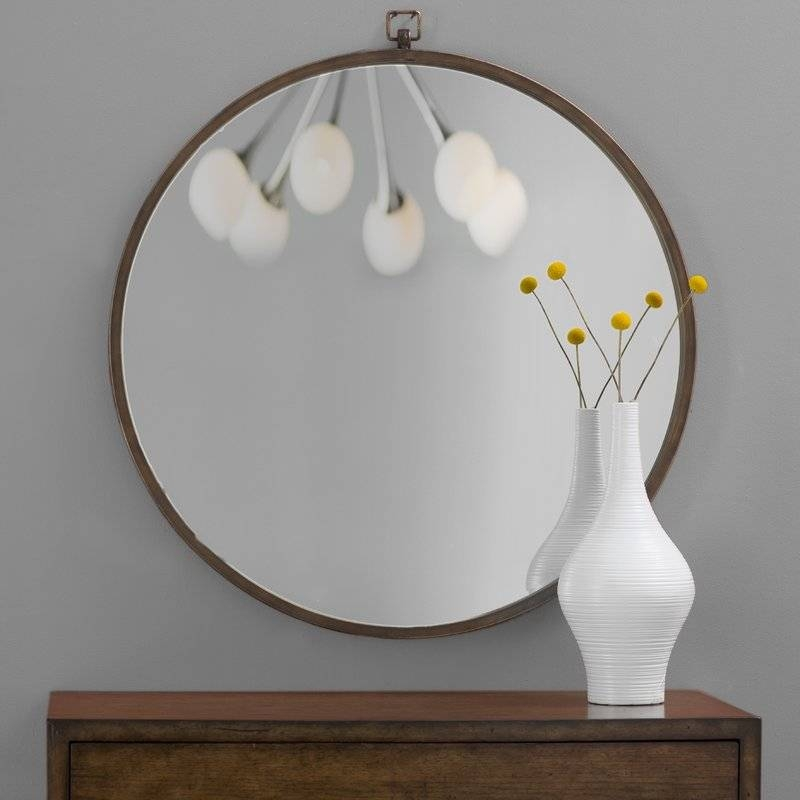 Farmhouse Mirrors | Birch Lane For Light Wall Mirrors (#8 of 15)