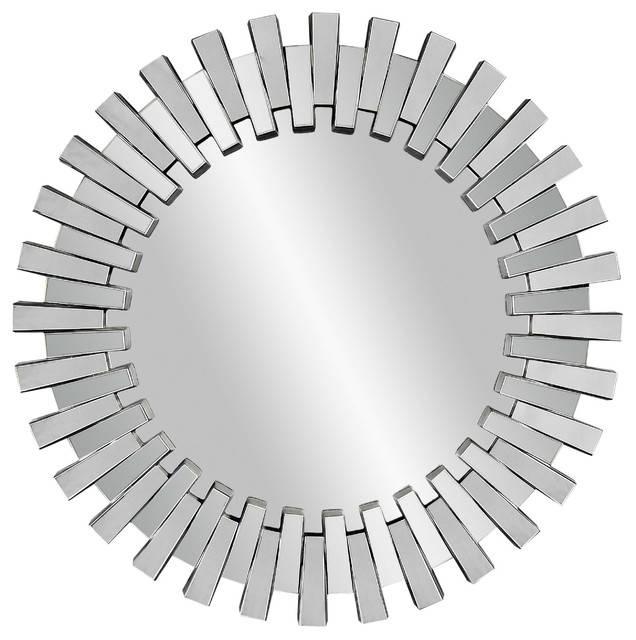 Popular Photo of Modern Round Wall Mirrors