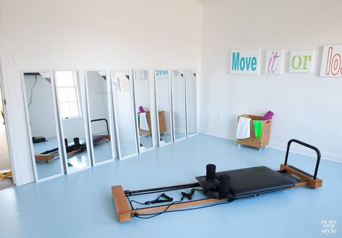 Fitness Room Mirrors – In My Own Style Within Wall Mirrors For Home Gym (#10 of 15)