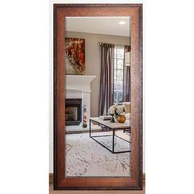Floor Mirrors – Mirrors – The Home Depot With Timber Mirrors (View 11 of 15)