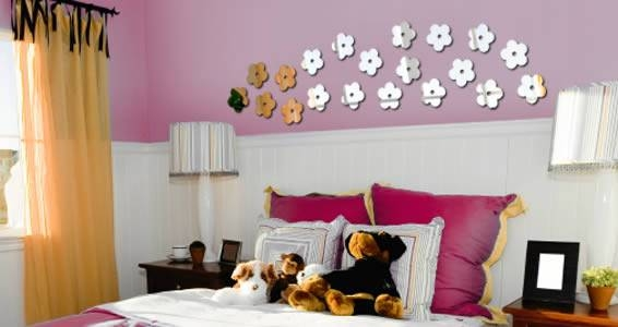 Flowers Acrylic Wall Mirrors | Dezign With A Z Within Flower Wall Mirrors (#10 of 15)
