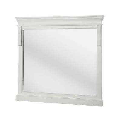 Framed – Bathroom Mirrors – Bath – The Home Depot Intended For White Framed Wall Mirrors (View 6 of 15)