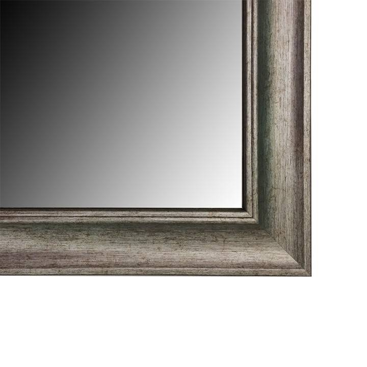 Framed Wall Mirrors Regarding Pewter Wall Mirrors (#6 of 15)