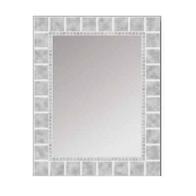 Frameless – Bathroom Mirrors – Bath – The Home Depot For Large Rectangular Wall Mirrors (#7 of 15)