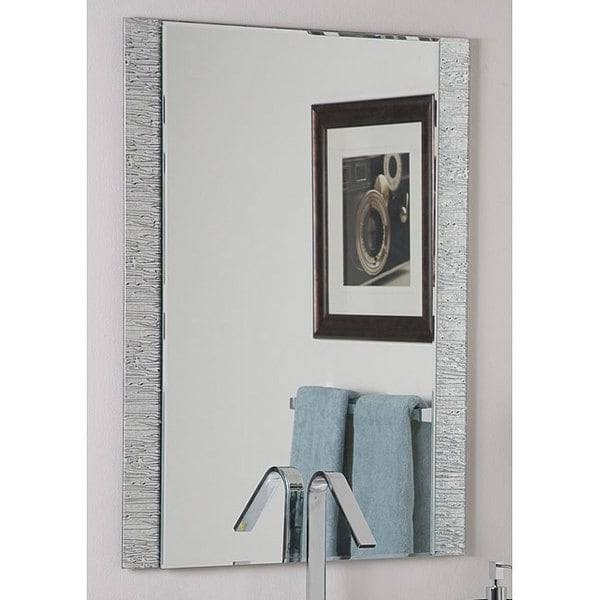 Popular Photo of Frameless Molten Wall Mirrors