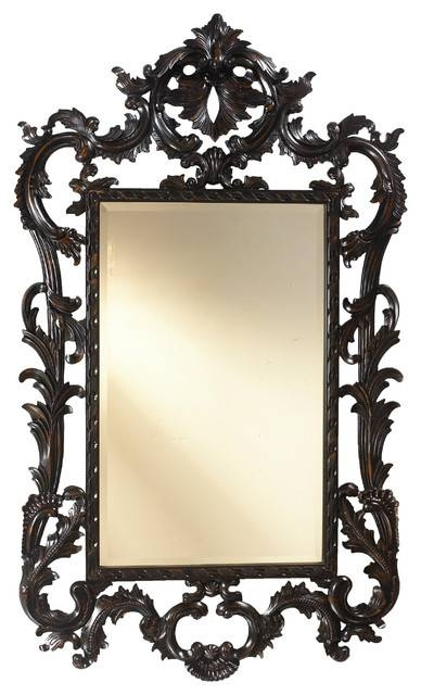 French Heritage Louis Xv Mirror – Traditional – Wall Mirrors – Throughout Traditional Wall Mirrors (#11 of 15)