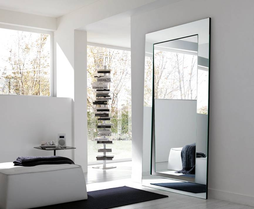 Full Length Decorative Wall Mirrors – Homes Zone Regarding Decorative Full Length Wall Mirrors (#5 of 15)