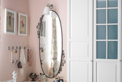 Full Length Oval Mirror | Inovodecor Intended For Full Length Oval Wall Mirrors (#7 of 15)