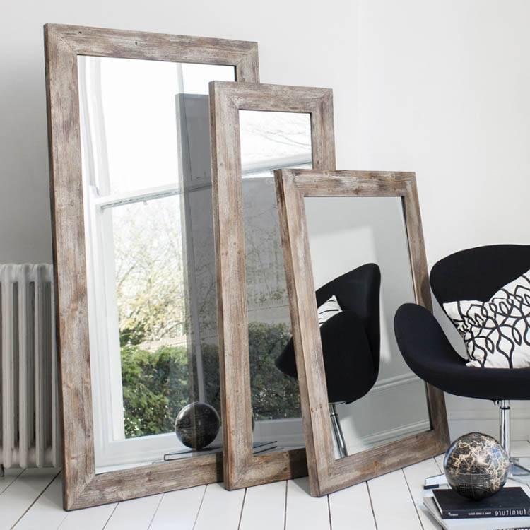 15 Inspirations of Framed Full Length Wall Mirrors