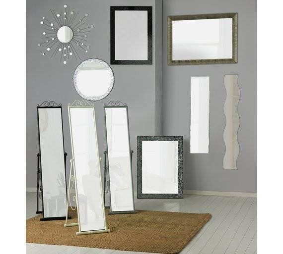 15 Photo Of Full Length Wavy Wall Mirrors