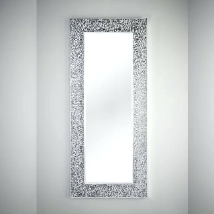 Full Length Wall Mirror Walmart Full Length Mirror With Storage Regarding Full Length Wavy Wall Mirrors (#9 of 15)