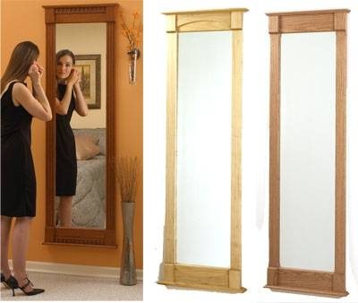 Full Length Wall Mirror Woodworking Plan From Wood Magazine Intended For Full Length Wall Mirrors (#9 of 15)