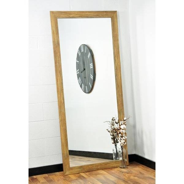 Full Length Wavy Wall Mirror Reviews Rustic Full Length Wall In Full Length Wavy Wall Mirrors (#10 of 15)