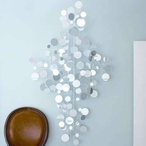 Funky Mirror Wall Art For Living Room – Wall Decoration Pictures Inside Wall Mirrors With Art (#6 of 15)