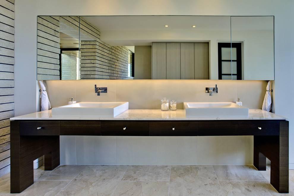 Futuristic Contemporary Bathroom Mirrors | Wigandia Bedroom Collection In Contemporary Bathroom Wall Mirrors (#14 of 15)