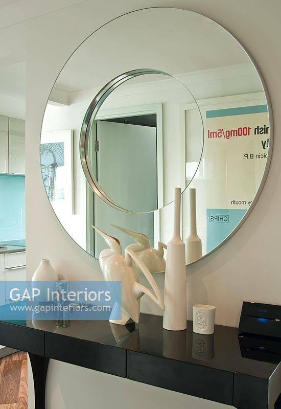 Inspiration about Gap Interiors – Mirror And Console Table In Modern Hallway – Image Pertaining To Modern Hall Mirrors (#15 of 15)