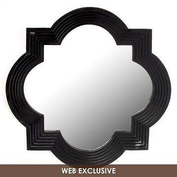 Inspiration about Geo Wall Mirror, 20X20 – Kirkland's Within Modern Black Wall Mirrors (#2 of 15)