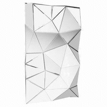 Inspiration about Geometric Decorative Frameless Wall Mirror | Global Sources Pertaining To Geometric Wall Mirrors (#1 of 15)